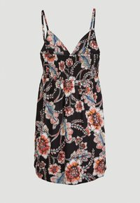 O'Neill - Day dress - black with red - 1