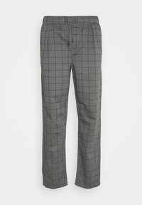 CHECK TROUSER - Trousers - grey
