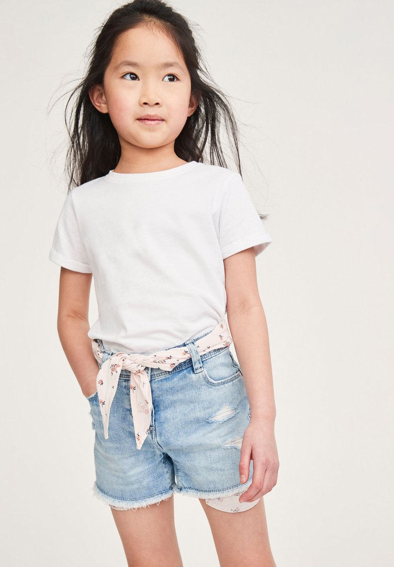 Next - Jeans Shorts - light-blue denim