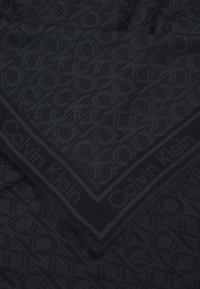 Calvin Klein - MONO SCARF - Foulard - black mix - 1