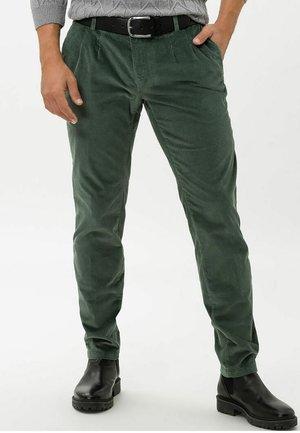STYLE PETE - Pantalon classique - moss