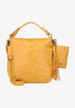 Käsilaukku - honey mustard