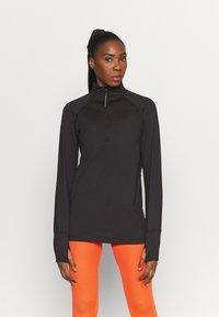 adidas Performance - LONGSLEEVE - Sportshirt - black - 0