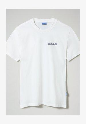 S SURF - T-shirt z nadrukiem - bright white