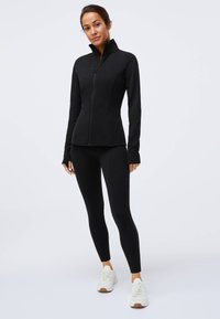 OYSHO - Soft shell jacket - black - 0