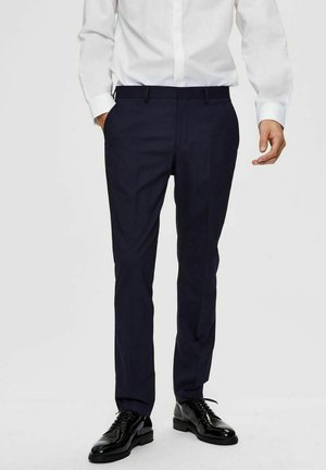 Suit trousers - navy blazer