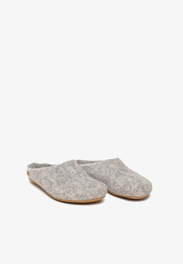 Slippers - grau