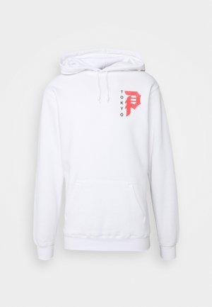 TOKYO DIRTY P HOOD - Sweatshirt - white