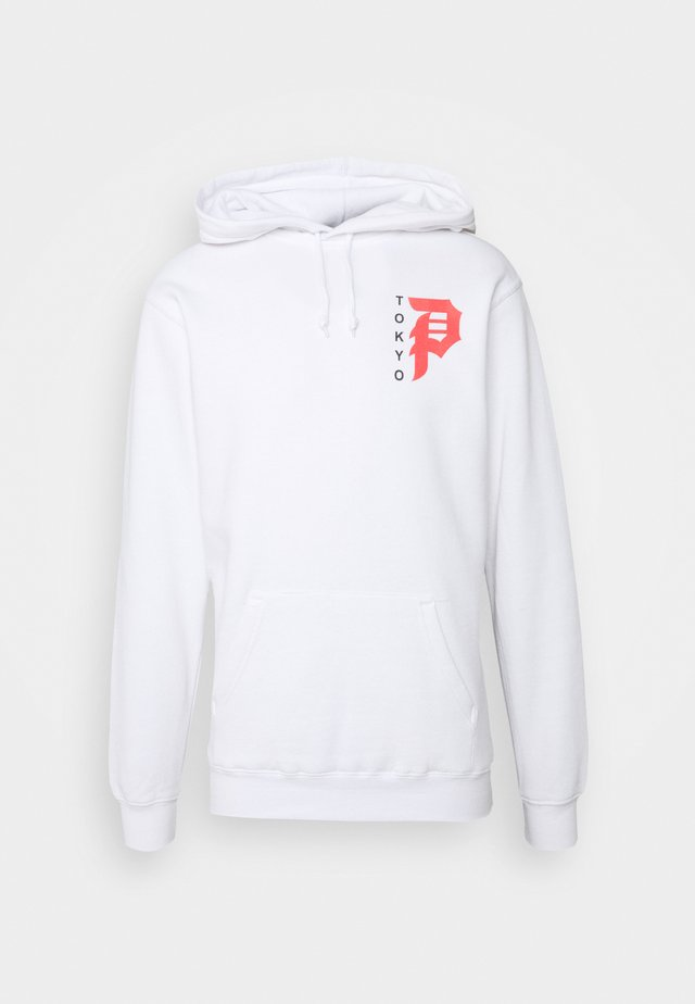 TOKYO DIRTY P HOOD - Sweater - white