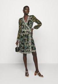 Diane von Furstenberg - GALA - Jersey dress - black/ivory - 1