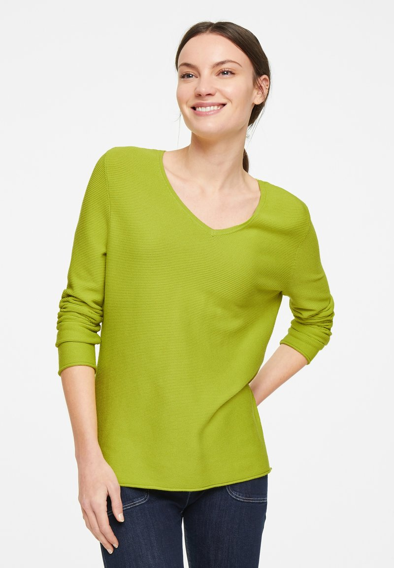 comma casual identity - Sweter - lime