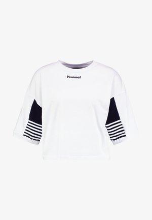 CANA - Print T-shirt - white