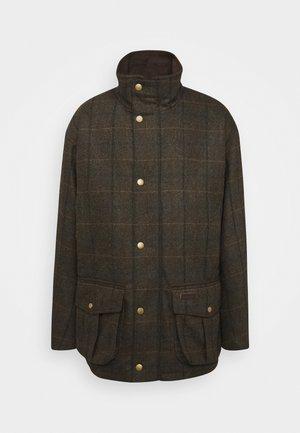 Krátký kabát - olive