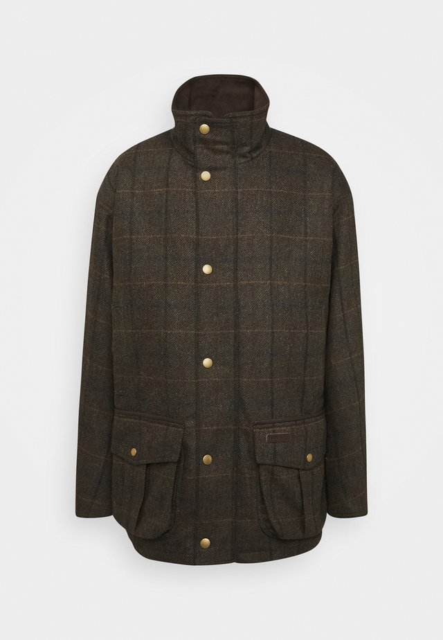 Short coat - olive