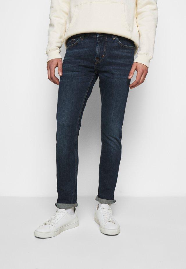 RONNIE DORADO - Slim fit jeans - dark blue