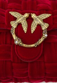 Pinko - LOVE MINI PUFF - Across body bag - red - 4