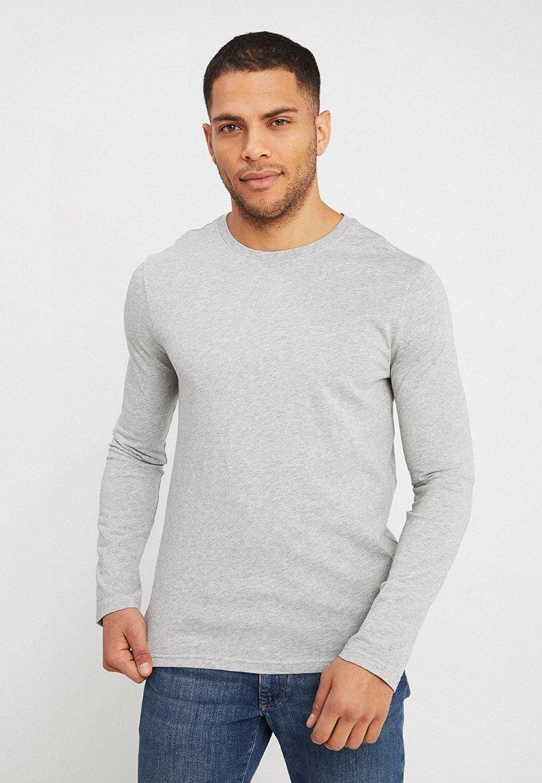 Benetton - BASIC CREW NECK - Bluzka z długim rękawem - light grey