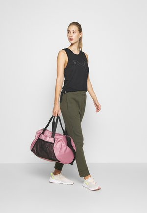 BARREL BAG - Sports bag - foxglove/black
