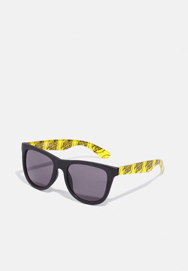 DRIPPY DOT SUNGLASSES UNISEX - Zonnebril - yellow/ black