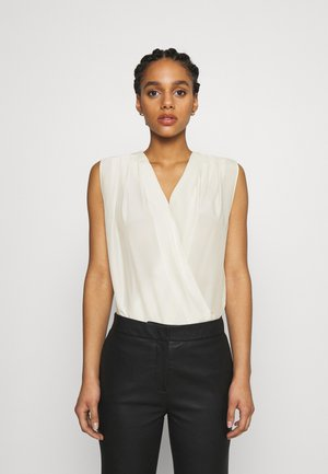 INES HABUTAY SOFT TOUCH - Blouse - offwhite