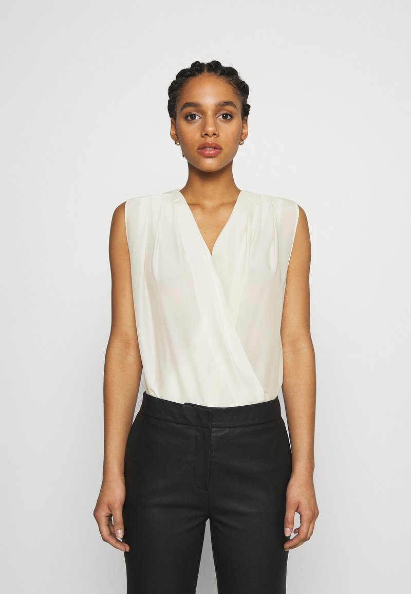Pinko - INES HABUTAY SOFT TOUCH - Blouse - offwhite