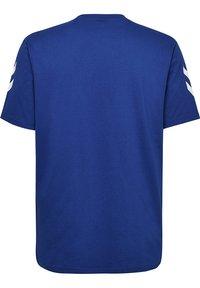 Hummel - HMLGO - Print T-shirt - true blue - 1