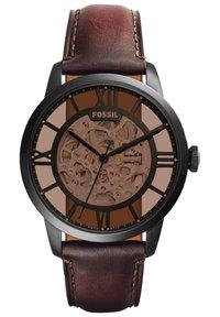 Fossil - Watch - dark brown - 0