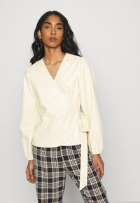 EDITED - PAPINA BLOUSE - Blouse - beige - 0