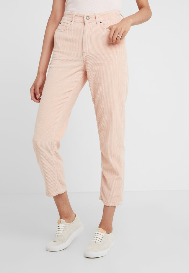 MOM - Pantalon classique - light pink