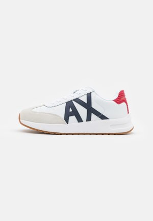 Sneakers laag - white/navy