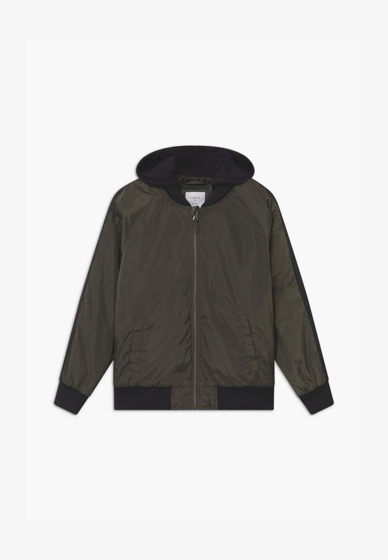 Lindex - Winter jacket - khaki green