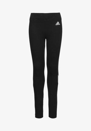 Leggings - black / white