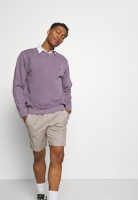 Only & Sons - ONSLINUS  LIFE CHECK - Shorts - chinchilla - 3