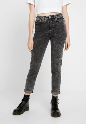 MOM SANTORINI - Relaxed fit jeans - black
