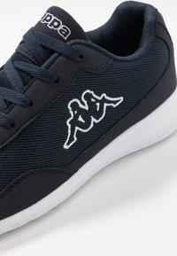 Kappa - FOLLOW - Sports shoes - navy/white - 5