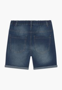 Benetton - BERMUDA - Denim shorts - blue denim - 1
