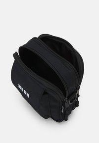 MSGM - CAMERA BAG LOGO UNISEX - Across body bag - black - 2