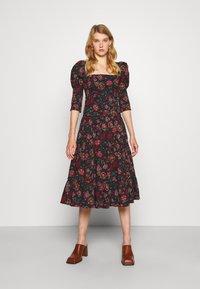 Diane von Furstenberg - NORA DRESS - Day dress - medium black - 0