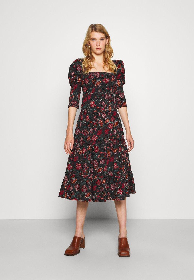 Diane von Furstenberg - NORA DRESS - Day dress - medium black