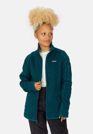 W's Better - Fleece jacket - dark borealis green