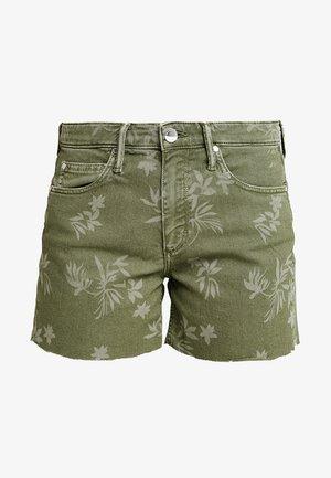 Denim shorts - olive tree