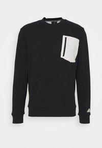 adidas Performance - MUST HAVES SPORTS - Sweatshirt - black/cream white - 0