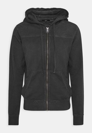 WYATT - Zip-up hoodie - vintage black