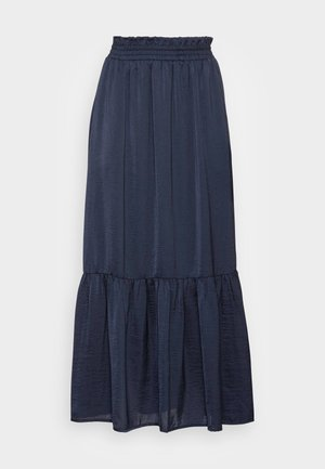 DERA MAXI SKIRT - Maxi skirt - midnight marine