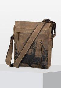 Greenburry - VINTAGE - Across body bag - brown - 2