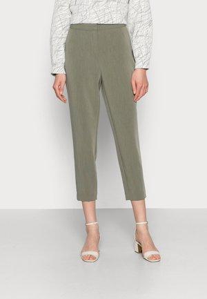 ENIMA PANTS - Pantalon classique - hedge green melange