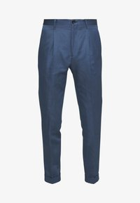 PS Paul Smith - MENS TROUSER PLEATED - Stoffhose - blue - 4