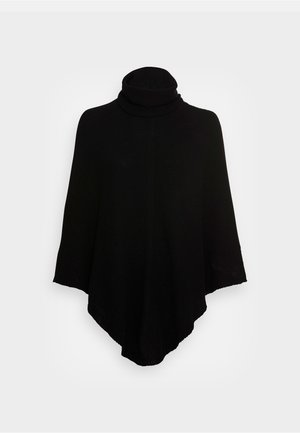 ELISABETTA - Poncho - black ardesia