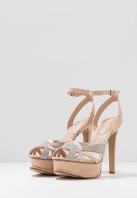 ALDO - LACLABLING - Sandaler med høye hæler - bone - 3