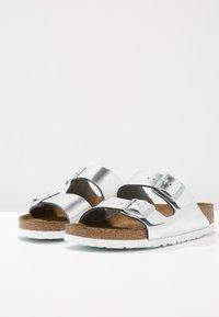 Birkenstock - ARIZONA - Sandaler - metallic silver - 3